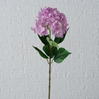 <h4>Zijde, Hydrangea, H 84 cm, 1 ass, Light rose</h4>