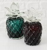 <h4>Deco Glas Ananas Zwart H16</h4>