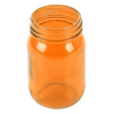 <h4>Vase Juba verre ø7x13cm orange</h4>