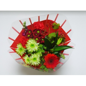 Bouquet 10 stems Red