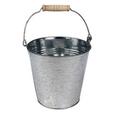 <h4>Bucket Riga zinc Ø24xH22cm</h4>