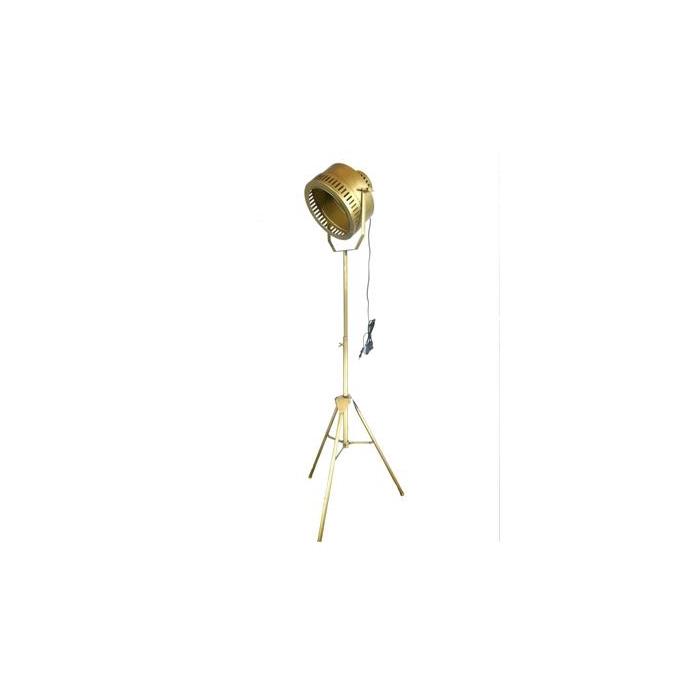 <h4>Lamp Floor Tripod H:133cm Gold</h4>