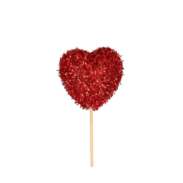 <h4>Valentijn 50cm Hart glitter 6cm</h4>