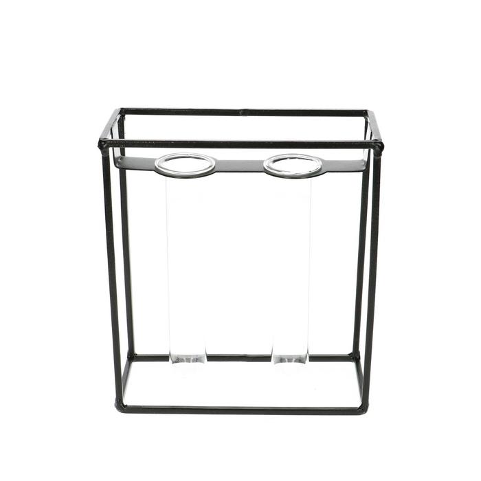 <h4>Glas Frame+2buis d03*15cm</h4>