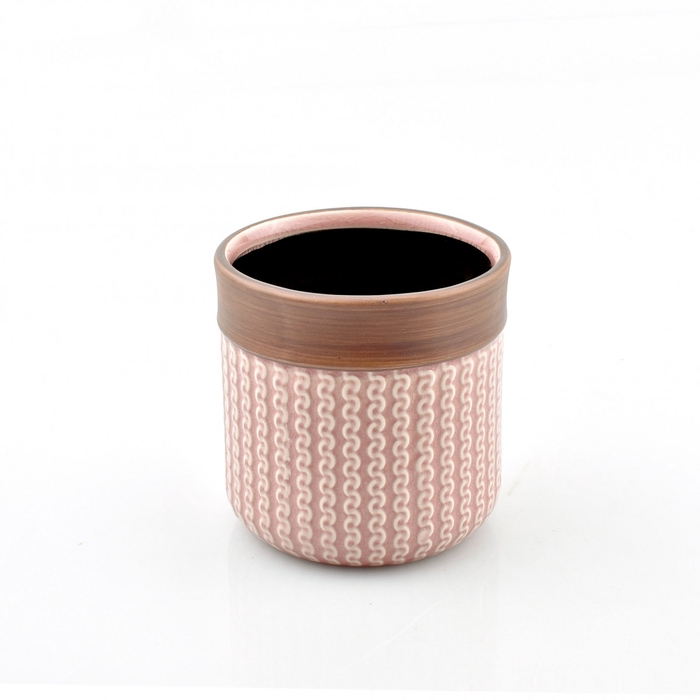 <h4>Keramiek Knitted pot d11*11cm</h4>
