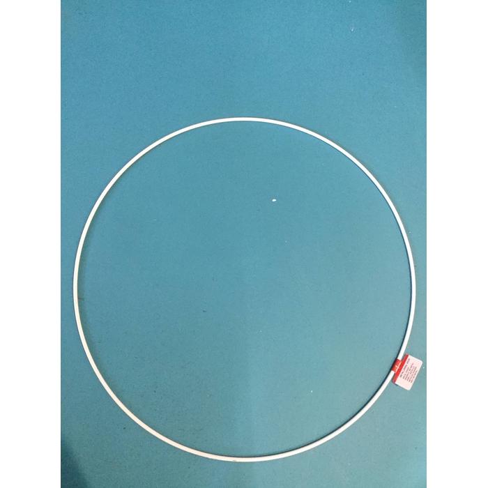 <h4>METAL RING ROUND SINGLE 050CM PLATINA</h4>