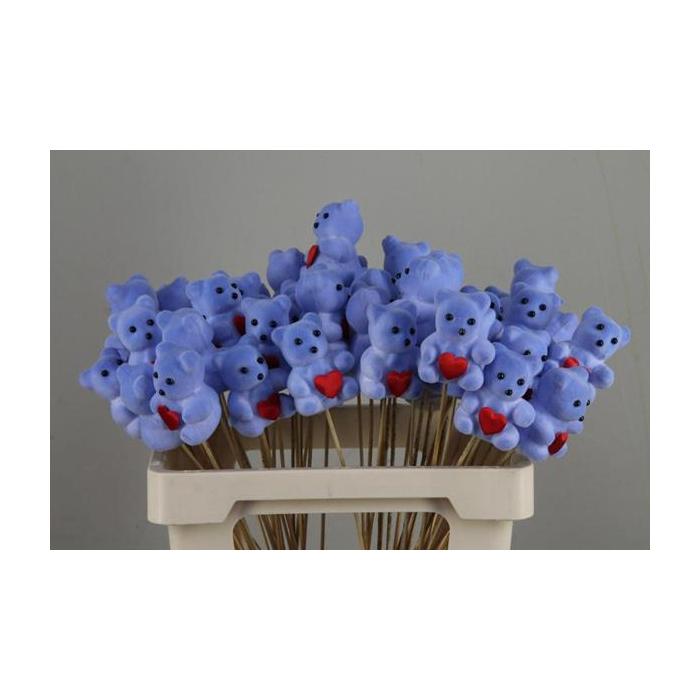 <h4>Stick Bear + Heart Blue</h4>