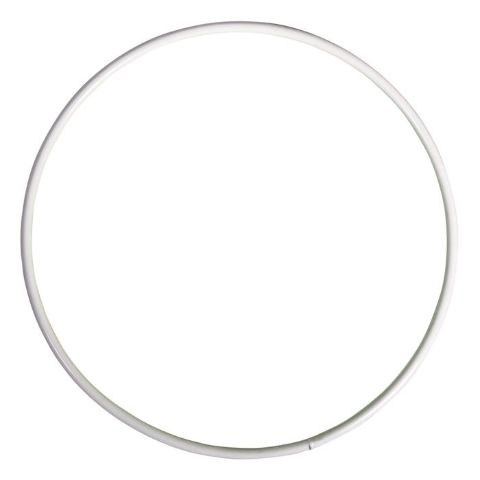 <h4>METAL RING ROUND SINGLE 012CM WHITE</h4>
