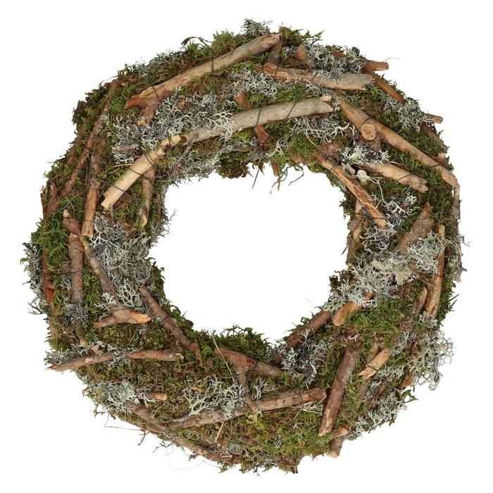 <h4>Wreath d38cm Mix moss</h4>