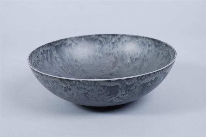 <h4>Melamine Schaal Bowl Grijs 19x6cm</h4>