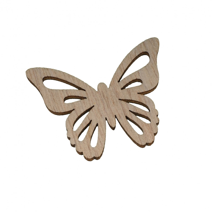 <h4>Voorjaar Vlinder hout 4.5*4cm x24</h4>