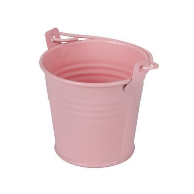 <h4>Bucket Sevilla zinc Ø6,3xH5,7cm - ES5,5 pink gloss</h4>