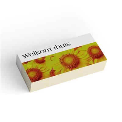 <h4>Bloemkaart stylish 06 welkom thuis-pakje 20 stuks</h4>