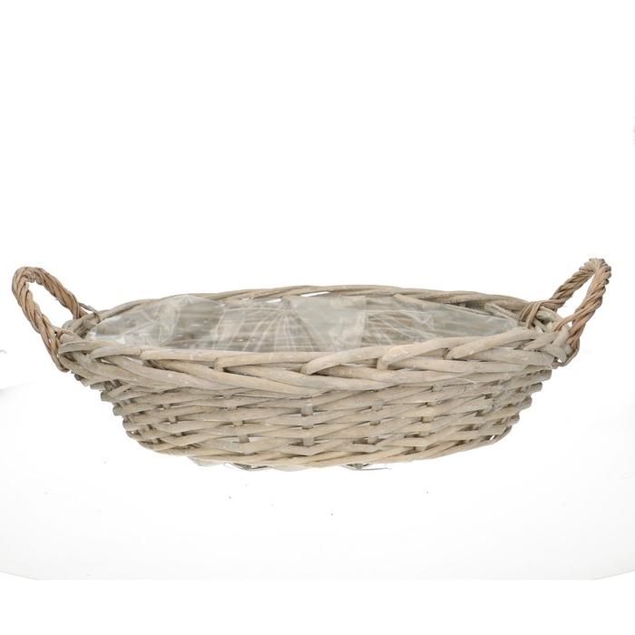<h4>Baskets Olivia bowl+handle d40*8cm</h4>