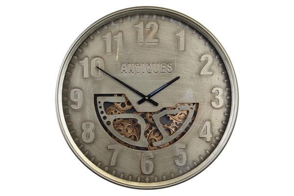 <h4>Clock Gear Ø60cm Grey 90619</h4>
