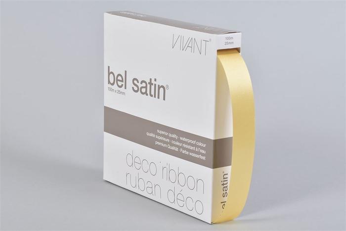 <h4>Lint Satin 50 Lichtgeel 100m X 25mm P/1</h4>