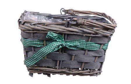 <h4>Basket Rentz 22x15x13 l.green ribbo</h4>
