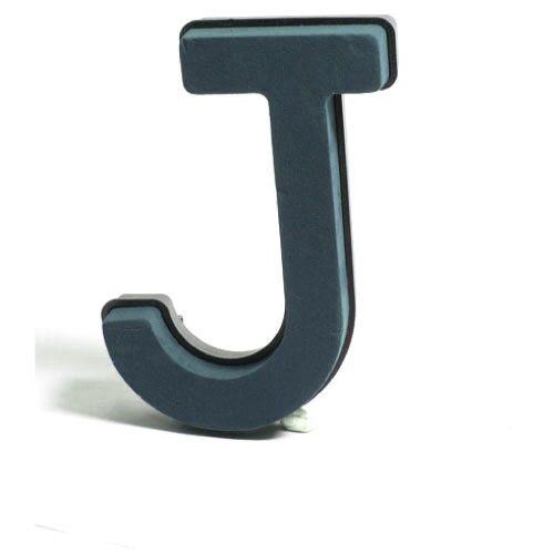 <h4>Steekschuim Basic Letter J 29cm</h4>