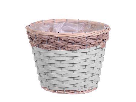 <h4>Basket Barwick d15.5xh13.5 white wa</h4>