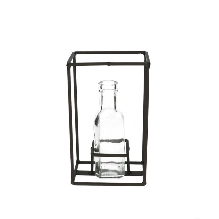 <h4>Glas Rek 1 fles vk d3/5*16cm</h4>