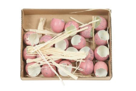 <h4>Deco Quail Egg Shell 20pc</h4>
