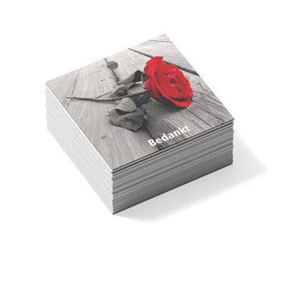<h4>Bloemkaart timber 22 bedankt rose- pakje 20st</h4>