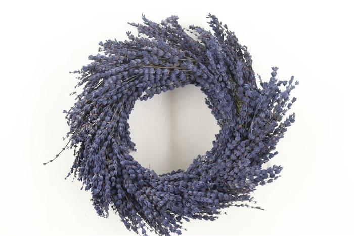 <h4>Krans Lavendel 30cm</h4>