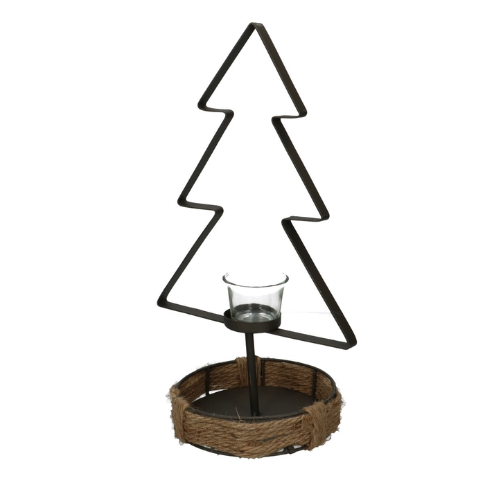 <h4>Christmas Frame tree+glass d15*37cm</h4>