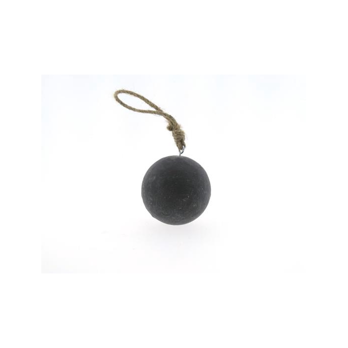 <h4>Ball Wood Hang Ø10cm Cement</h4>