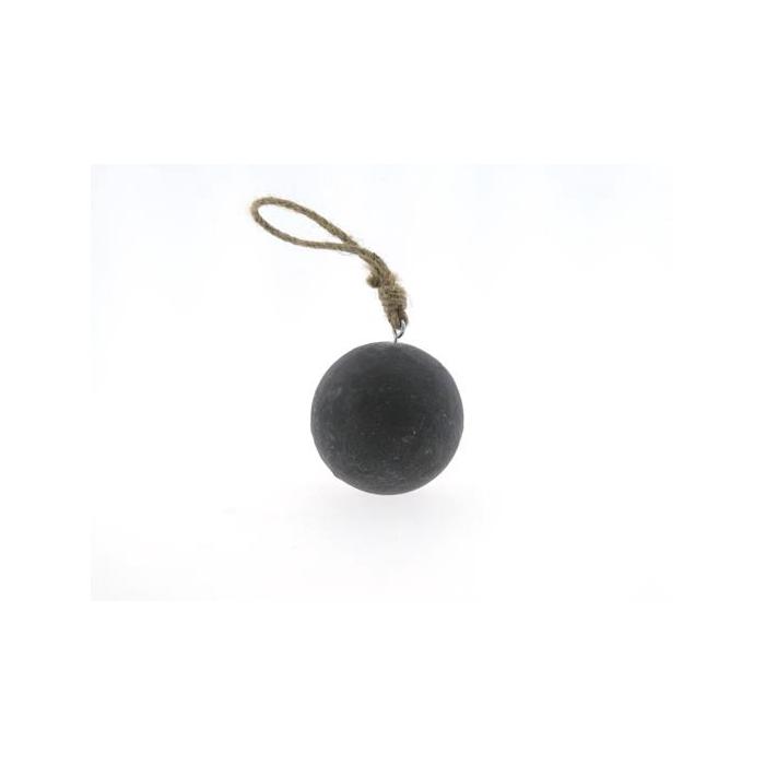 <h4>Ball Wood Hang Ø10cm Cement</h4>