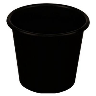 <h4>Bucket 8 ltr  wide  black</h4>