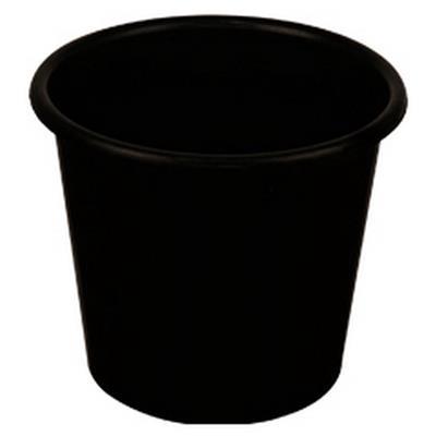 <h4>seaux 5L large noir</h4>