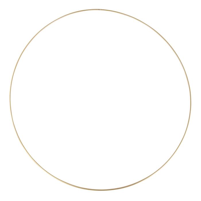 <h4>METAL RING ROUND SINGLE 060CM GOLD</h4>