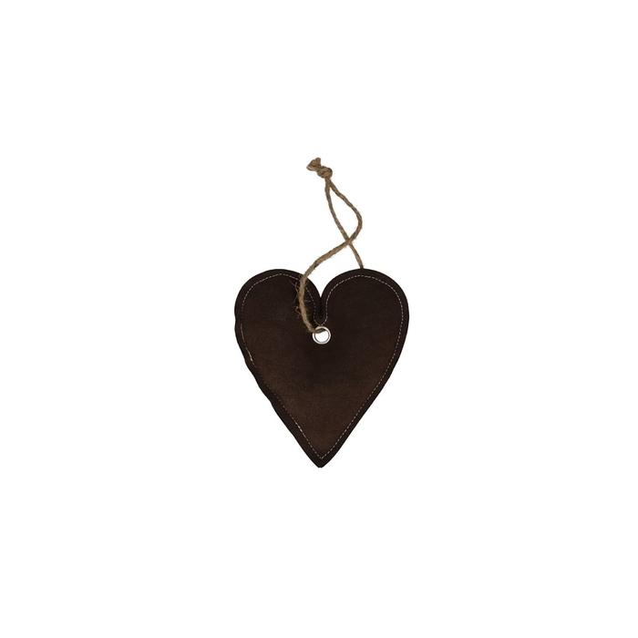 <h4>Opruiming Pasen Hanger hart stof 15*4cm</h4>