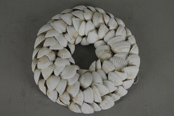 <h4>Wreath Shells White Chippy</h4>