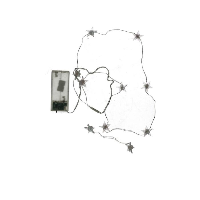 <h4>Christmas LED wire star 10L 1m (ex.bat)</h4>