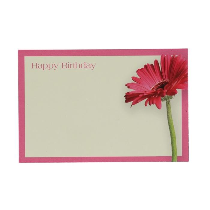 <h4>Labels Kaart 9*6cm x50 Happy birth.</h4>