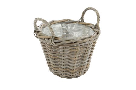 <h4>Basket Petrey d26xh19 grey</h4>