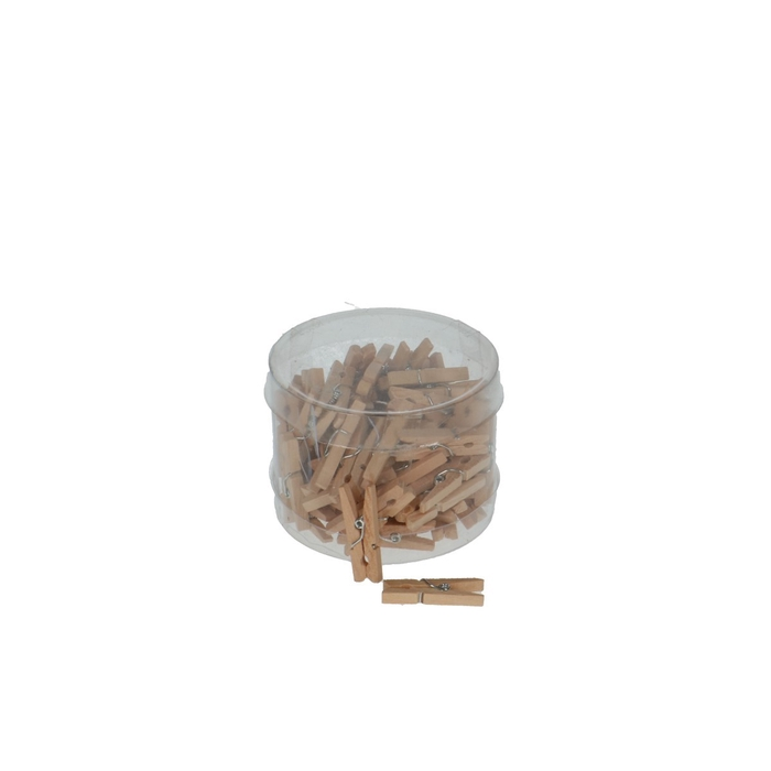 <h4>Decoration Pegs 30mm wood x72</h4>
