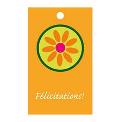<h4>Bloemkaartjes ma -Félicitations!- pakje 20 stuks</h4>