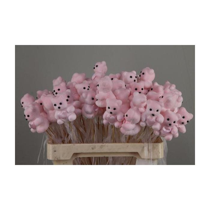 <h4>Stick Bear + Heart Pink</h4>