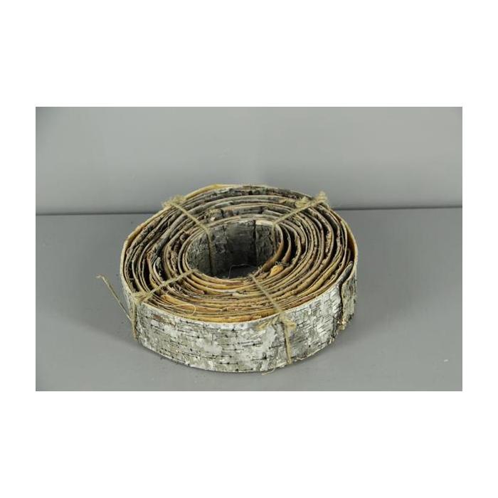 <h4>Birch Bark Roll Natural 28x7cm</h4>
