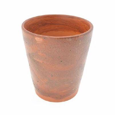 <h4>DF883824800 - Terra pot wax brown 19cm</h4>