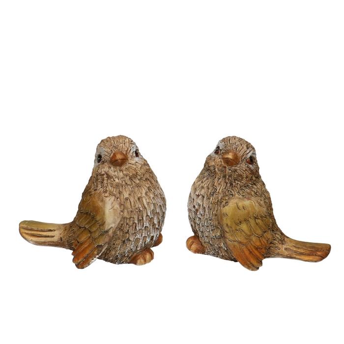 <h4>Autumn Bird 11*7.5*9.5cm ass.</h4>