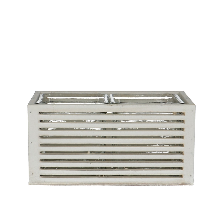 <h4>Glass Box+2tray d7.5*7.5cm</h4>