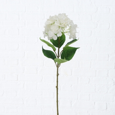 <h4>Zijde, Hydrangea, H 84 cm, 1 ass, White</h4>