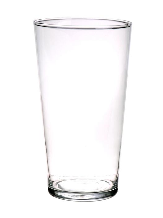 <h4>DF883432400 - Vase Orlando d14xh25 clear</h4>