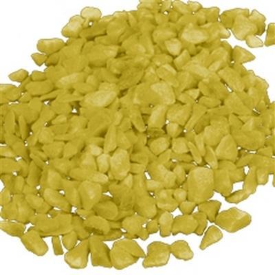 <h4>Cailloux 'r décorer 4-6mm - 5kg jaune</h4>