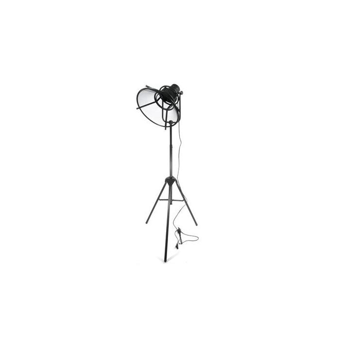 <h4>Lamp Mtl Standing 129cm Black</h4>