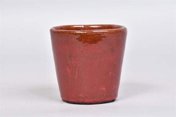 <h4>Alicante Pot Ruby Red 11x10cm</h4>